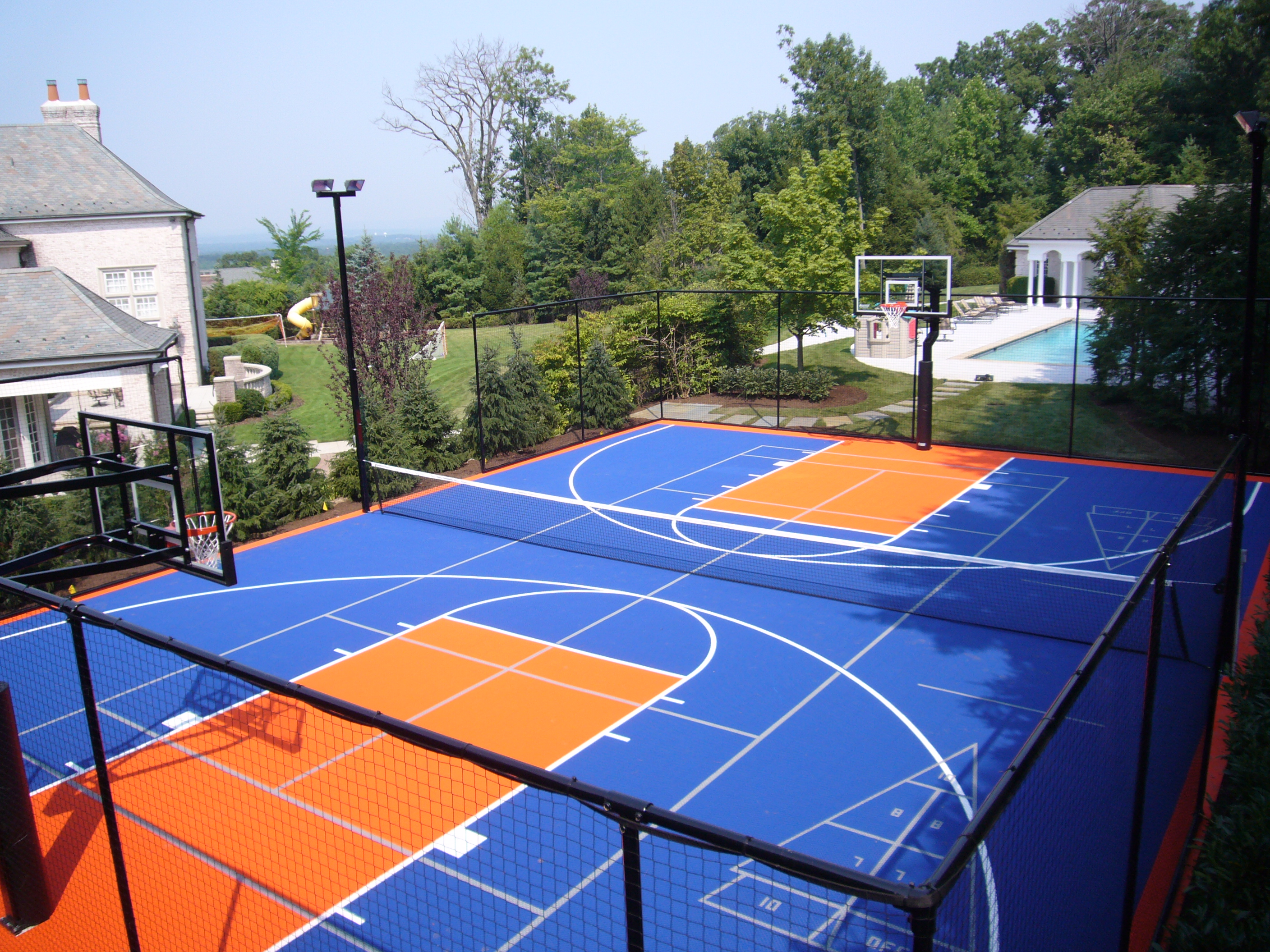 Charmant Popular Installations Include: Basketball Courts; Tennis/Pickleball Courts; Shuffleboard  Courts ...