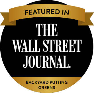 Backyard Putting Greens Featured in the Wallstreet Journal